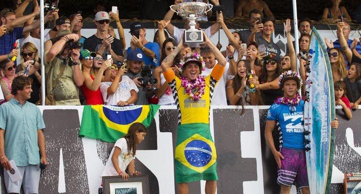 Gabriel Medina, campeón del mundo de Surf 2014